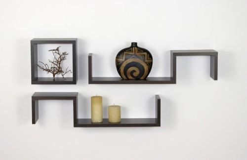 Półki Na ścianę Agata Komplet 3szt