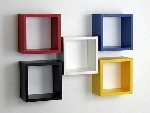 Kwadrat 30 X 30 Półka Na ścianę